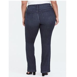 Torrid Slim Boot Trouser Jeans Dark Wash Denim 14T